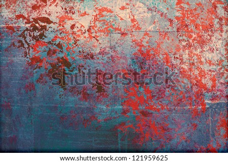 abstract blue background texture close up - stock photo