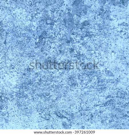 abstract blue background texture of an old concrete wall
