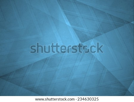 abstract blue background, triangles and angled shapes layered line design element, faded texture design, fun geometric background - stock photo