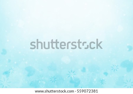 abstract blue background, Valentine's day