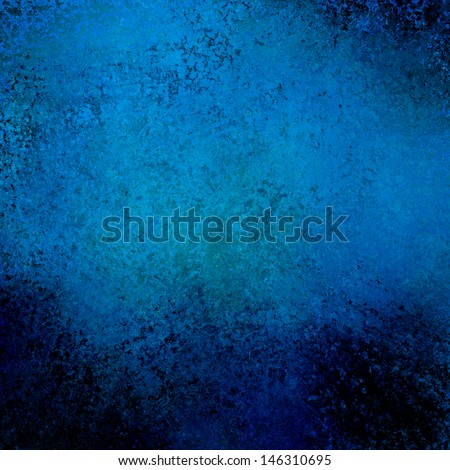abstract blue background vignette black border, vintage grunge background texture layout design, sapphire color background, midnight blue web template background, elegant solid blue paper spotlight  - stock photo