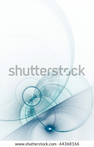 Abstract blue background with empty space for text - stock photo