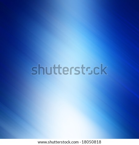 abstract blue background with some smooth lines in it - stock photo