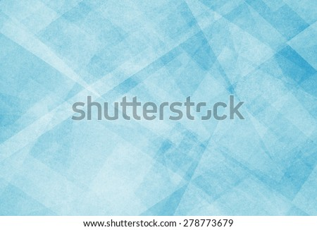 abstract blue background with white triangle pattern - stock photo