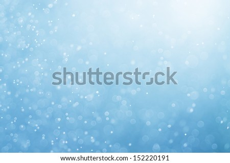 abstract blue bokeh defocused background - stock photo