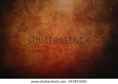 abstract blue canvas painting  - stock photo