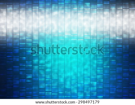 Abstract blue creative background - stock photo