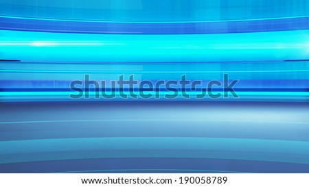 Abstract blue cubes background, 3d render - stock photo