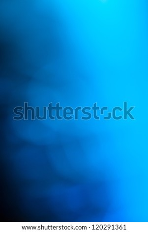 Abstract blue-dark gradient background. - stock photo
