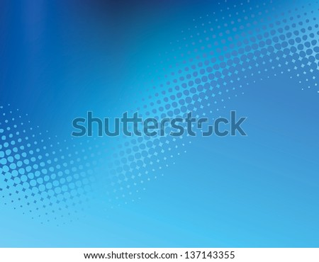 Abstract  Blue Dot Wave .jpg Graphic Background perfect for web banners, ads and other print collateral materials.