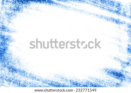 abstract blue frame template