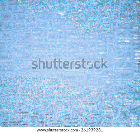 abstract blue frost background - stock photo