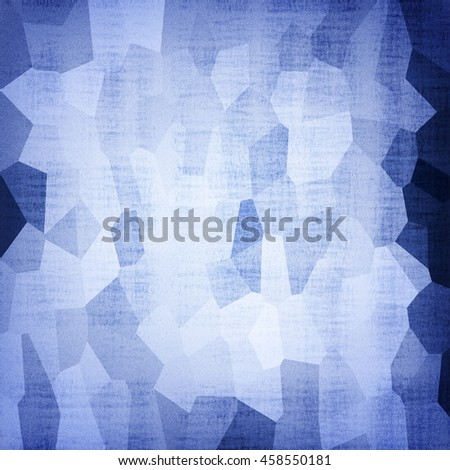 Abstract blue geometric dotted pattern background - stock photo