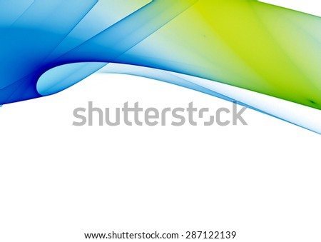 abstract blue green yellow background texture - stock photo