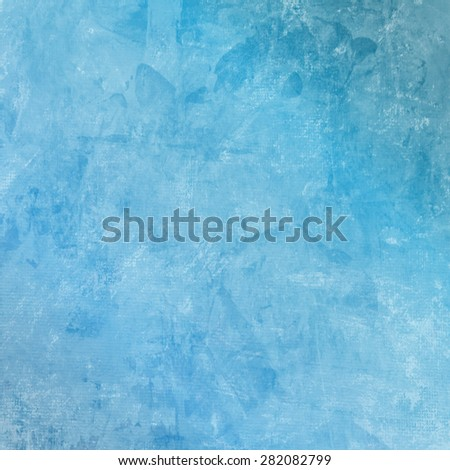 Abstract blue grunge texture - stock photo