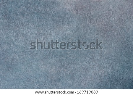 Abstract blue leather texture background - stock photo