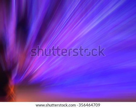 Abstract blue light background - stock photo