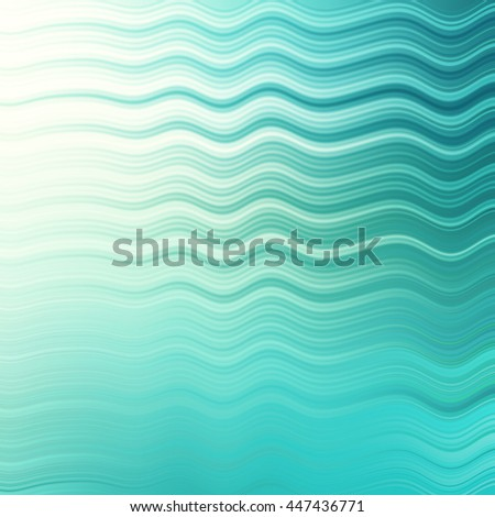 abstract blue light wave modern art background