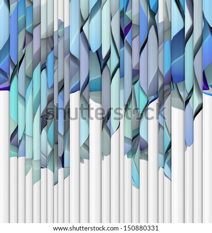 abstract blue purple backdrop fragmented  - stock photo