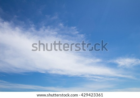 Abstract blue sky background. Peace prophecy prediction Still compose cool impact output smooth softness flexibility simplicity dew peace earth horizontal shiny hopeful calm relaxing pleasant livable