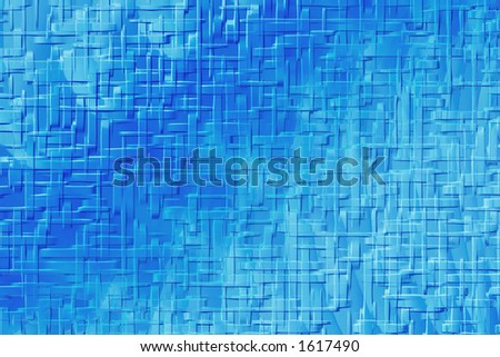 Abstract blue texture