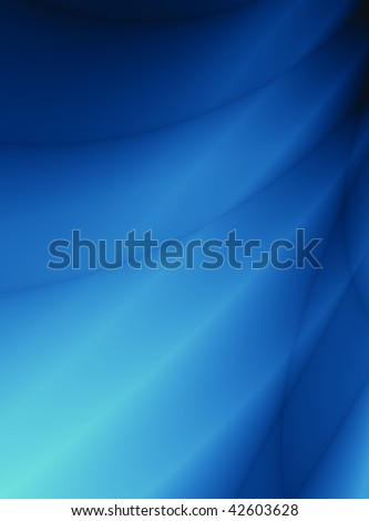 Abstract Blue water pattern background - stock photo