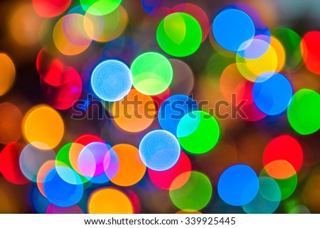 Abstract blur background