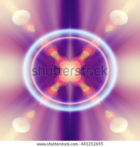 Abstract blur background. Fantastic light. Radiance of light. - stock photo