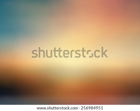abstract blur background for web design, colorful background, blurred, wallpaper,sunset landscape - stock photo