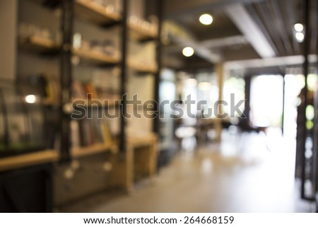 Abstract blur background interior - stock photo