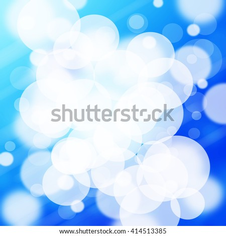 Abstract blur background light blue, soft and elegance. - stock photo