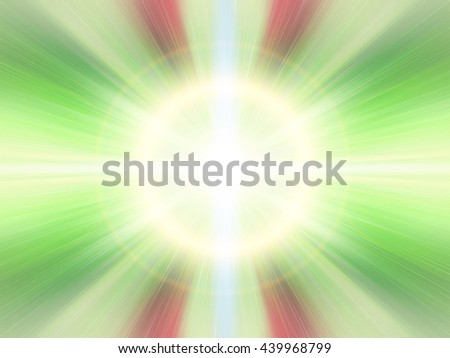 Abstract blur background pattern. Light blue abstract wallpaper background. Horizontal lights. Flash - rays of light in the space of the sky. Radiance of light. Energy, aura, yoga, meditation. - stock photo