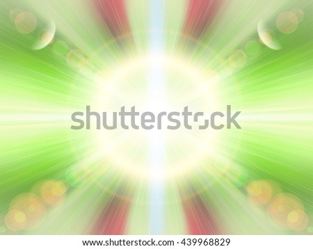 Abstract blur background pattern. Light blue abstract wallpaper background. Horizontal lights. Flash - rays of light in the space of the sky. Radiance of light. Energy, aura, yoga, meditation, bokeh. - stock photo