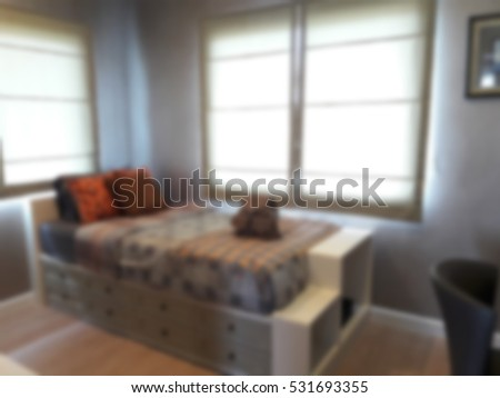 bedroom interior equipped abstract - photo #43