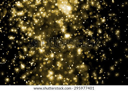 Abstract blur bokeh and star light background(defocused)
