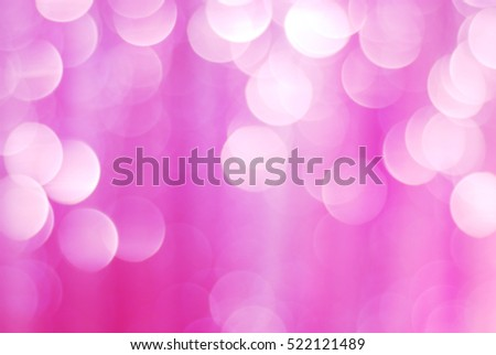 abstract blur bokeh circles background