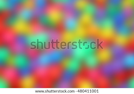 Abstract blur colorful  background