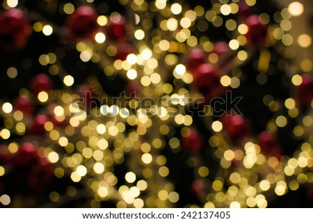 Abstract  blur de-focused background black, soft focus / Colorful bokeh twinkling lights background/ De-focused colorful bokeh twinkling lights background (abstract, bokeh, decor)   - stock photo