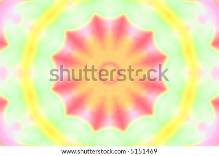 abstract blur design of colorful tie dye pattern - stock photo