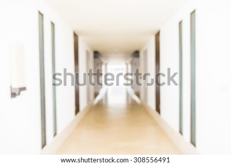 Abstract Blur hotel resort background