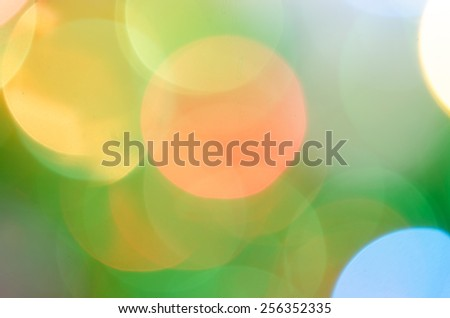 Abstract blur lighting back ground - stock photo