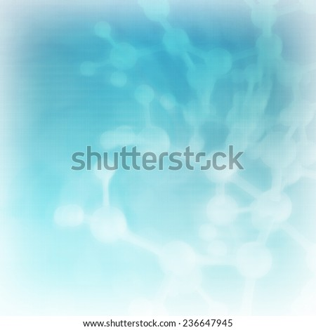 Abstract blur molecules medical background  - stock photo