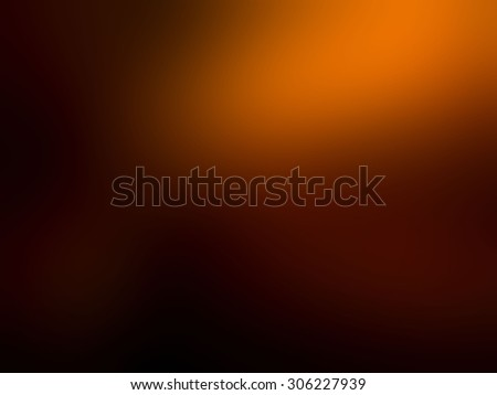 Abstract blur of orange black background  - stock photo