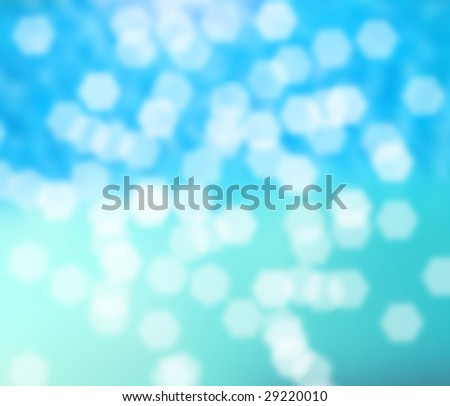 Abstract blur of water - stock photo