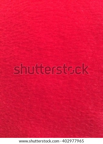 abstract blur red fabric background, soft focus - stock photo