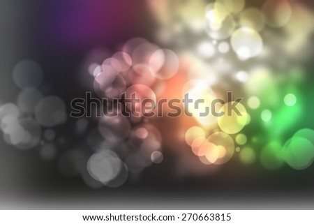 abstract blurred background, smooth gradient texture color with beautiful twinkling bokeh - stock photo