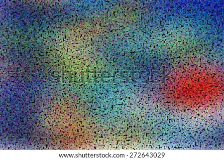 abstract blurred background, smooth gradient texture color with dotted pointillized style - stock photo