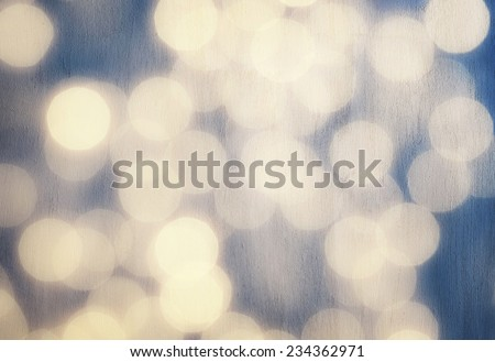 Abstract blurred background, white bokeh wallpaper, festive greeting card, celebrating New Year, beautiful holidays decoration - stock photo