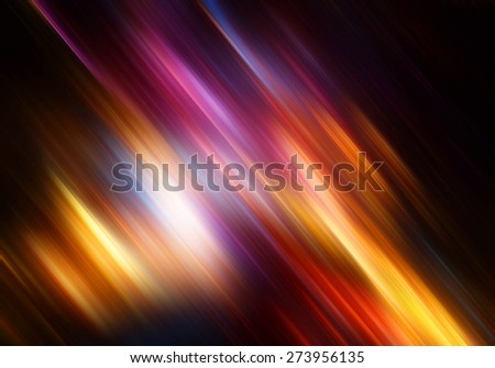 Abstract blurred background with lighting effect for graphic design. Red, yellow, blue and pink color motion. Bright glowing template for corporate card, cover brochure, flyer, poster, banner. - stock photo