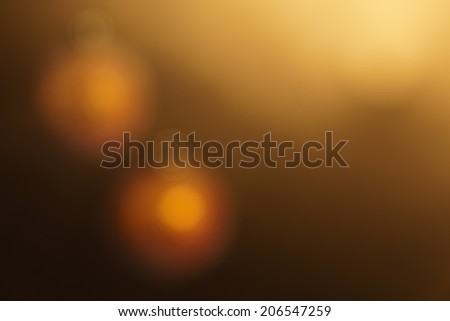 Abstract blurred background with New Year or Christmas balls. Balls are not in focus. Completely defocused image. - stock photo